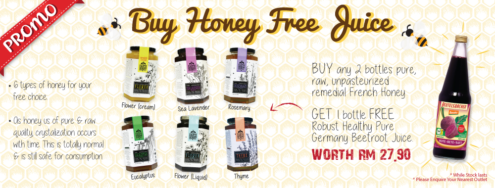 Promo Buy Honey Free Juice